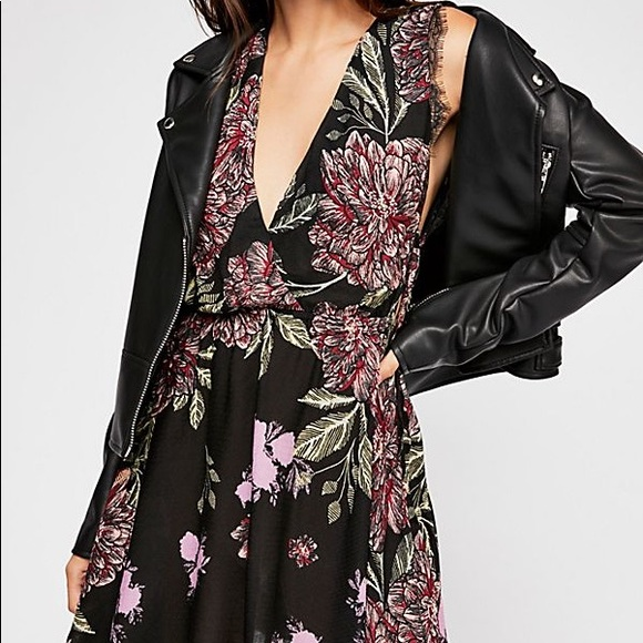 Free People Intimately Marnie Printed Dress Small